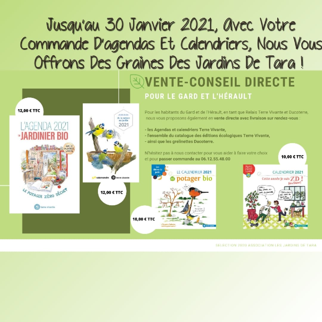 Offre speciale Agendas calendriers