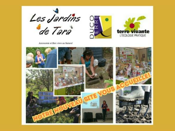 Bienvenue sur le nouveau site des Jardins De Tara
